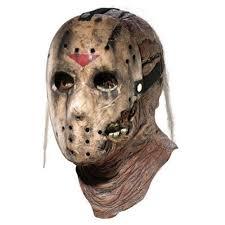 Halloween Costumes Jason Halloween Costume Overhead Mask Jason Voorhees Deluxe Scary Creepy