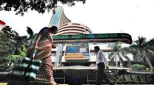 sensex breaks 4 day momentum ends with loss the indian express