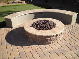 patio fire pits in arizona landscape design