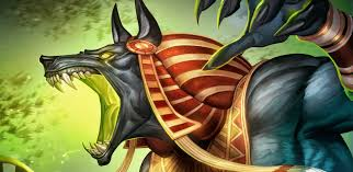 anubis the famous egyptian god of death it was the master of