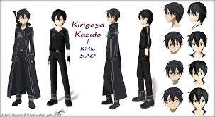 imagenes de sword art online kirito buscar con google anime