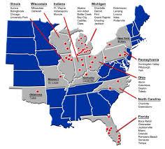 Jackson Michigan Map by Alro Steel Metal Fabricators 34401 Schoolcraft Rd Livonia Mi