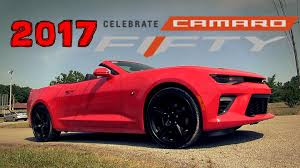 2017 chevrolet camaro 2ss convertible 50 years overview dan
