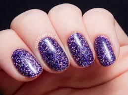 how to party like a rockstar in purple glitter gels