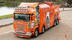 orange cars 2016 photos trucks tuning scania 2016 r730 highline terminator 3840x2160