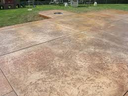 Fractured Earth Concrete Stamp by Customer Stories Mr Concrete Of Indiana Inc