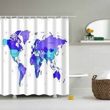 Shower Curtain Prices World Map Shower Curtain Bath Curtain Sale Cortina Poliester