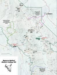 Map Of Death Valley Death Valley U002705 Trails Syncro Safari Vanagon Syncro Four