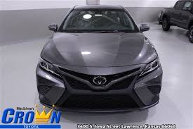 toyota camry 201 2018 toyota camry for sale in ks crown toyota of
