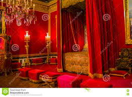 Royal Bedroom by The Royal Bedroom In Palace Of Versaiiles Editorial Stock Image