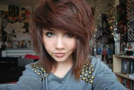 Emo Hairstyles For Girls With Medium Hair by Medium Length Scene Hairstyles Hairstyle Foк Women U0026 Man