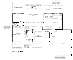 Colonial Plans Estates At Mill Creek Ridge The Duncan Home Design