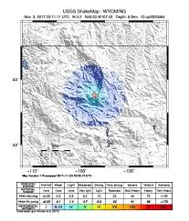 Wyoming which seismic waves travel most rapidly images Earthquake info m4 2 earthquake on fri 3 nov 23 11 11 utc wyoming jpg