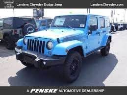 light blue jeep wrangler 2 door new jeep at landers chrysler dodge jeep ram serving little rock