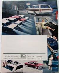 ford accessories sales brochure thunderbird mustang fairlane