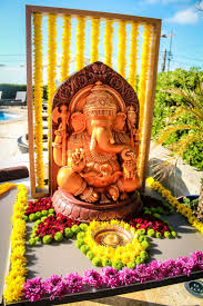 Decoration For Puja At Home by 48 Best Ganesh Decoration Images On Pinterest Hindus Indian