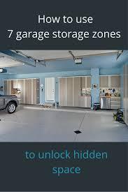 how to use 7 garage storage zones to unlock hidden space hidden