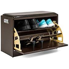 amazon com the sole secret button tufted ottoman with shoe