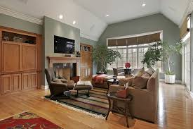 living room stunning minimalist family room design with white