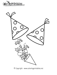 christmas and new year coloring pages free printable new years