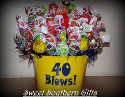 lollipop bouquet 40 blows lollipop bouquet milestone birthday gift s