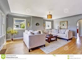 Livingroom Light Light Grey Living Room With White Sofas Stock Photo Image 42628347