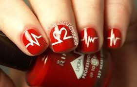 fall in love with 11 valentine u0027s day nail art designs today com