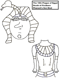 pharaoh lunch bag craft