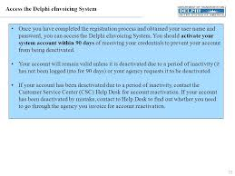 Csc Help Desk Phone Number Eauthentication Before Accessing The Delphi Einvoicing System You