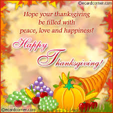 happy thanksgiving wishes send this beautifully decorated happy