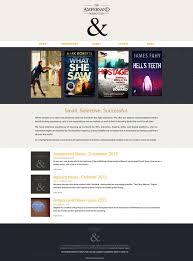 the ampersand literary agency website work author website