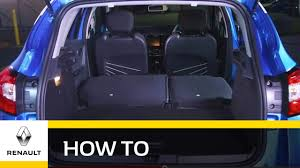 renault zoe boot space renault captur with increased storage space youtube