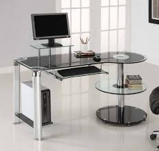 Laptop Mini Desk Office Desk Mini Desk Glass Office Desk Computer Desk With Hutch