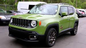 New 2016 Jeep Renegade 75th Anniversary Edition Jungle Green Youtube