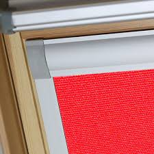 Red Blackout Blind Flame Red Prima Skylight Blackout Blind For Velux Windows