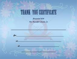 thank you certificate template certificate of appreciation 02 30