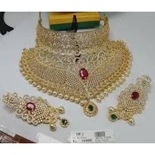 bridal necklace images Cz stone bridal necklace set online m2735p7460 jpg