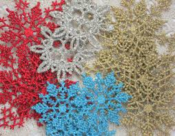 easy snowflake ornaments craft tutorial mitzi u0027s miscellany