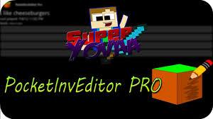 pocket inv editor pro apk pocketinveditor pro 1 12 2 para minecraft pe 0 9 0