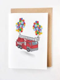 fire truck blank father u0027s day greeting card greeting cards