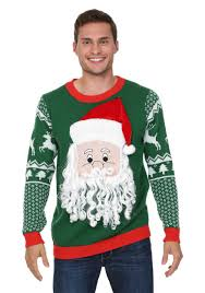 sweater ideas 3d santa sweater