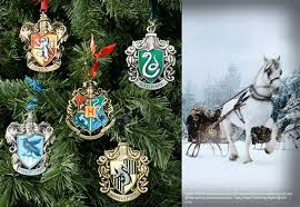 hogwarts ornaments at noblecollection