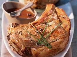côtes de veau à la dijonnaise facile recette sur cuisine actuelle