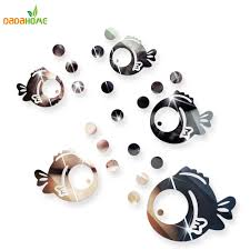 online buy wholesale wall stickers bubbles from china wall bubble fish bathroom acrylic mirrored decorative sticker wall art mirror decorative wall sticker bedroom secor room