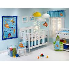 Baby Bedding Baby Finding Nemo Wavy Days 4 Pc Crib Bedding Set