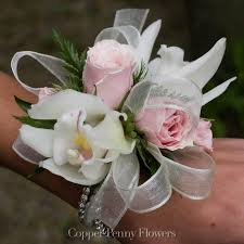white corsages for prom corsages local concord florist copper flowers