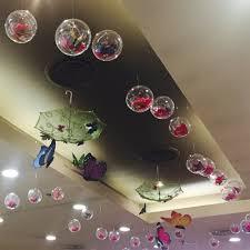 5 8cm 10 balls diy clear fillable plastic christmas baubles xmas