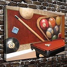 pool table wall art amazon com colorsforu wall art painting billiards prints on canvas