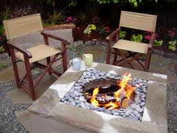 Diy Firepit Table How To Make A Concrete Feature How Tos Diy