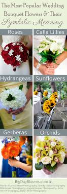 wedding flowers meaning most popular wedding bouquet flower types